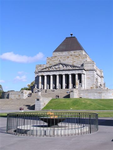 shrine of remebrance